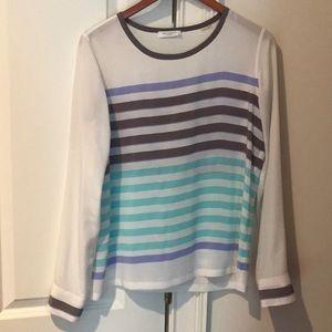 Silk equipment blouse